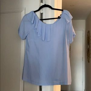 New with tags Light Blue Blouse